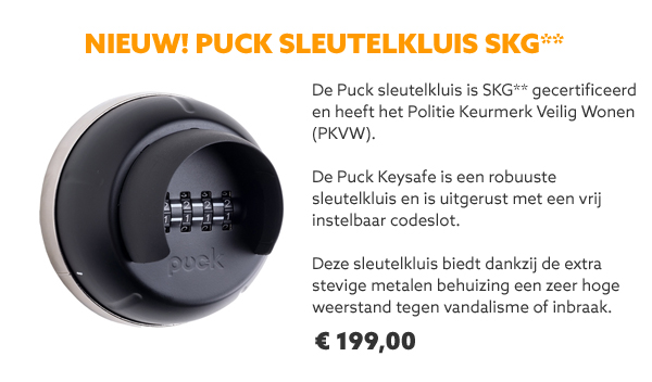 Sleutelkluis Puck