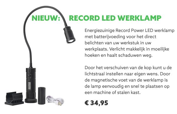 Record Power werklamp