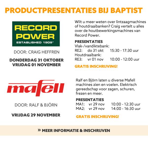 Productpresentaties