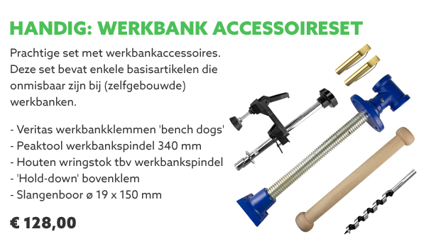Werkbank accessoireset