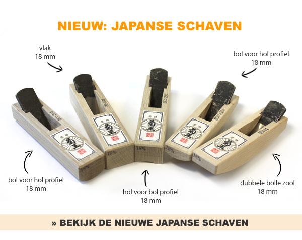 Japanse schaven