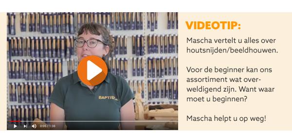 Video houtsnijden beeldhouwen