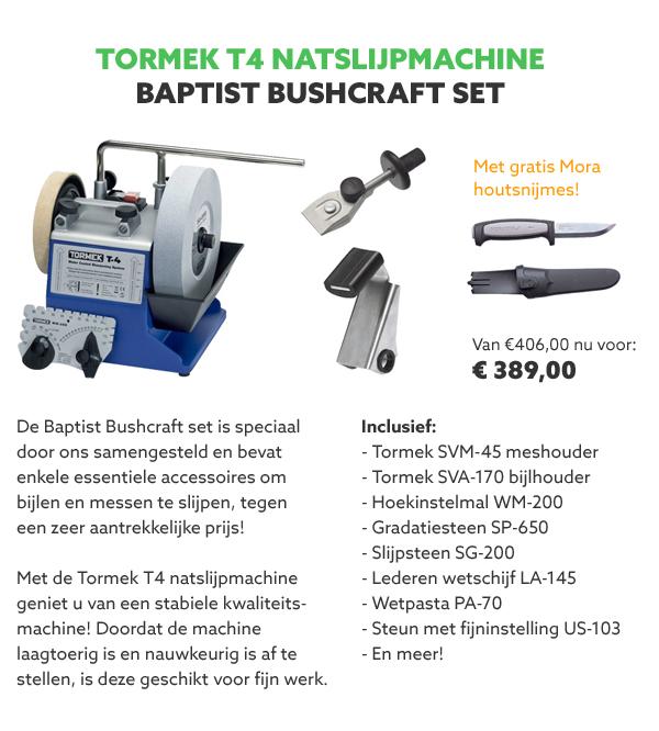Tormek T4 Bushcraft set