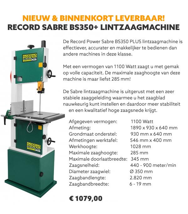 Record Power lintzaagmachine