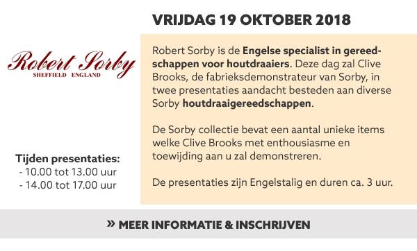 Robert Sorby productpresentatie