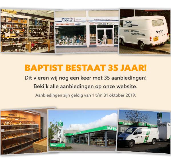 Aanbiedingen Baptist 35 jaar