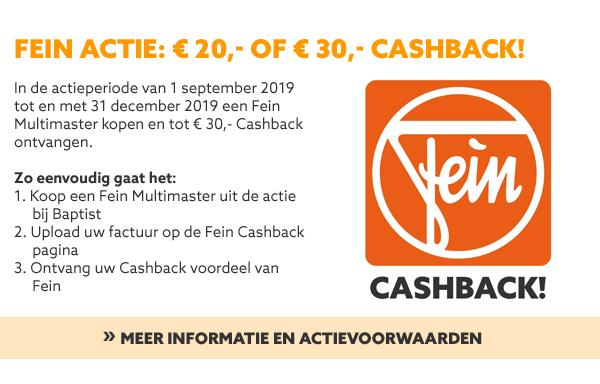 Fein CashBack actie